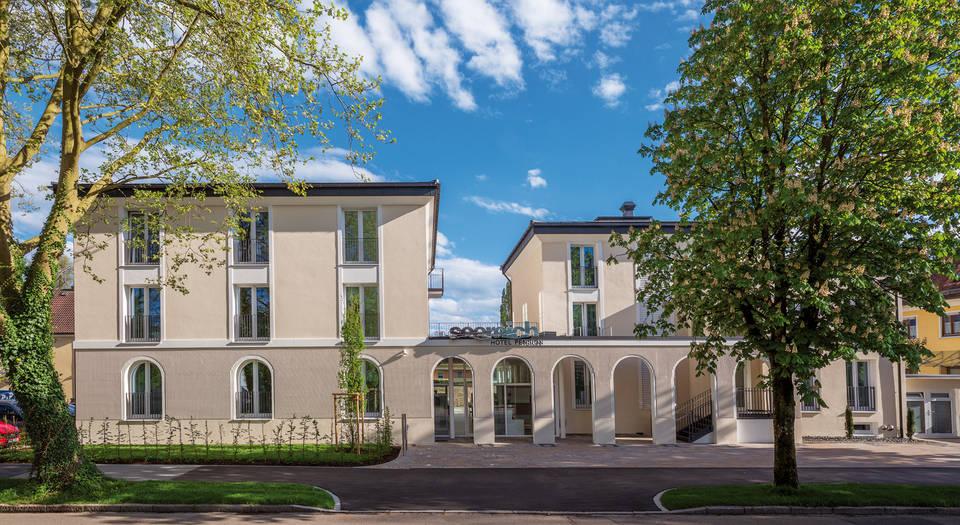 Seereich hotel pension lindau im bodensee for Designhotel bodensee